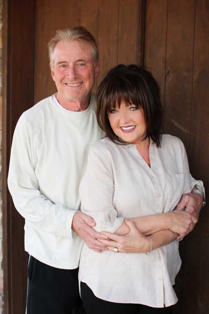 Karen Wheaton and husband, Rick Towe